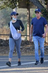Katharine McPhee - Out at Honor Bar in Montecito 10/06/2020