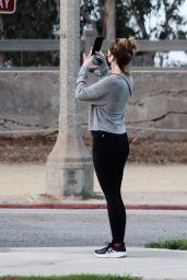 Katherine Schwarzenegger - Out in Santa Monica 10/11/2020
