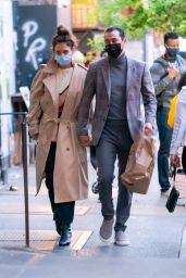 Katie Holmes and Emilio Vitolo Head - Out in New York City 10/13/2020