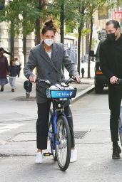 Katie Holmes and Emilio Vitolo - Out in NY 10/20/2020