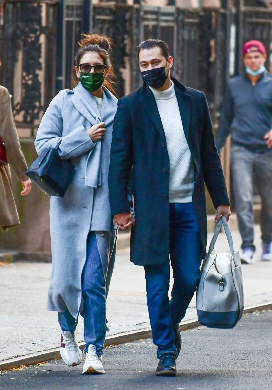 Katie Holmes and Emilio Vitolo - Out in Soho, NY 10/05/2020
