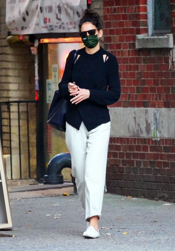 Katie Holmes - Out in New York 10/15/2020