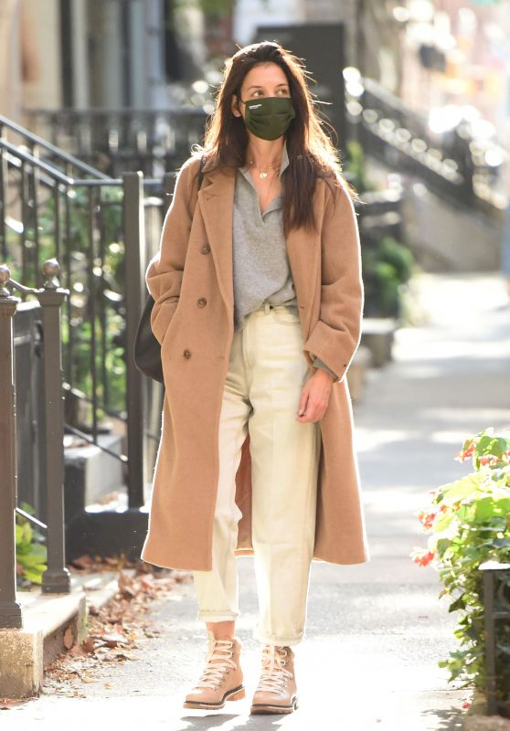 Katie Holmes - Out in NYC 10/15/2020