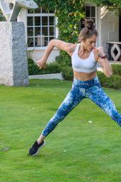 Katie Waissel - Workout in London 10/24/2020