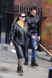 Kelly Brook and Jeremy Parisi - Out in Hampstead 10/07/2020