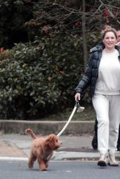 Kelly Brook With Her Boyfriend Jeremy Parisi - Out in North London 10/10/2020