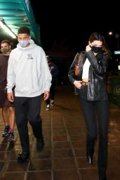 Kendall Jenner Night Out in West Hollywood 10/03/2020