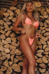 Khloe Terae - Home Photoshoot in Bikinis August 2020