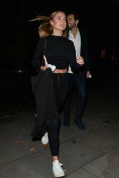 Kimberley Garner - Leaving the Connaught Hotel in Mayfair 10/08/2020