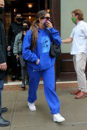 Kourtney Kardashian and Addison Rae - Leave the Greenwich Hotel in NY 10/12/2020