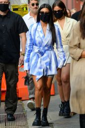 Kourtney Kardashian and Addison Rae - Out in Downtown Manhattan, NY 10/10/2020