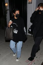 Kylie Jenner and Anastasia Karanikolaou - Leaving a Voting Popup in West Hollywood 10/26/2020