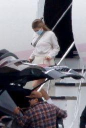 Kylie Jenner and Travis Scott - Arrive Back in LA 10/26/2020