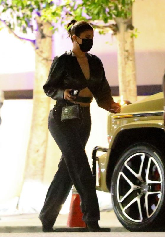 Kylie Jenner at Nobu in Los Angeles 10/15/2020