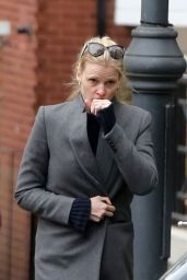Lara Stone - Out in North London 10/07/2020