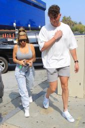 Larsa Pippen and Harry Jowsey - Zinque in West Hollywood 10/08/2020