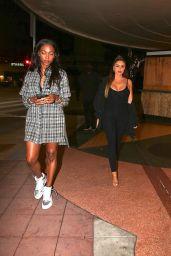 Larsa Pippen Night Out Style - LA 10/19/2020
