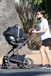 Lea Michele - Out For a Walk in Santa Monica 09/30/2020