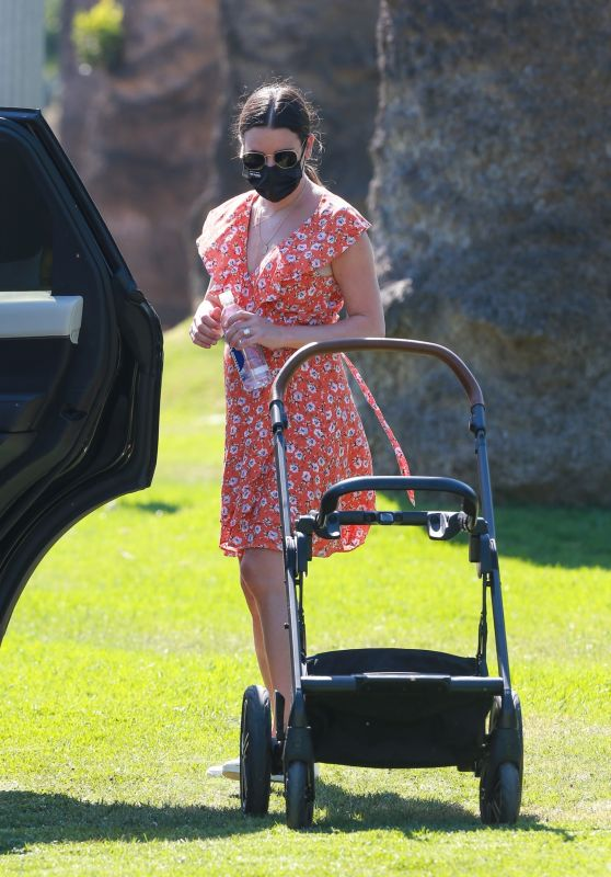 Lea Michele - Out in Brentwood 10/13/2020