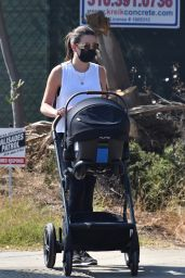 Lea Michele With Her Husband and Baby - Brentwood 10/06/2020