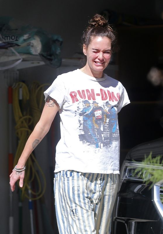 Lena Headey - Out in Los Angeles 10/29/2020