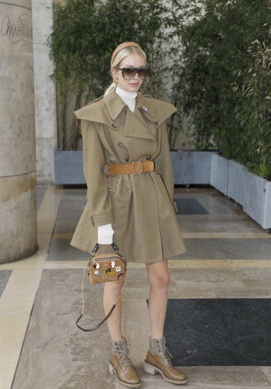 Leonie Hanne - Chloé Spring-Summer 2021 Ready-To-Wear Collection Presentation at Paris Fashion Week 10/01/2020