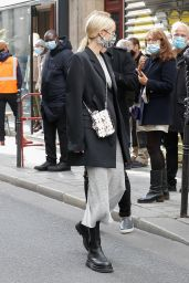 Leonie Hanne - Leaving Paco Rabanne Show in Paris 10/04/2020