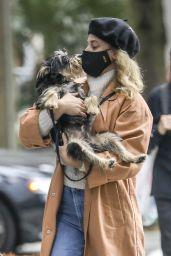 Lili Reinhart - Walks Her Dog in Vancouver 10/04/2020