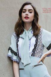 Lily Collins - OK Magazine UK 10/20/2020 Issue