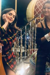 Lily Collins Photos 10/18/2020