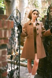 Lily Collins – Rollacoaster Fall/Winter 2020 Photos