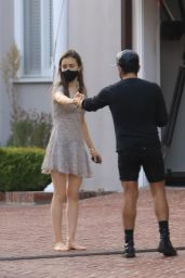 Lily Collins - Shopping in LA 10/16/2020