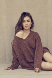 Lily Collins - Sunday Times Style 11 October 2020 Photos