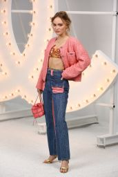 Lily-Rose Depp – CHANEL Photocall at the Paris Fashion Week 10/06/2020