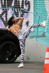 Liza Koshy - Sowed Off Her Dance Skills in Los Angeles 10/22/2020