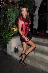Lizzie Cundy Night Out Style - Annabel's in Mayfair 10/01/2020