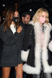 Lottie Moss and Hana Cross - Bagatelle in London 10/02/2020