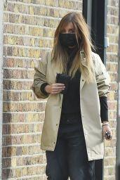 Louise Redknapp  Street Style - London 10/26/2020