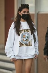 Madison Beer - Leaving Dinner at the Local Peasant in Sherman Oaks 10/15/2020
