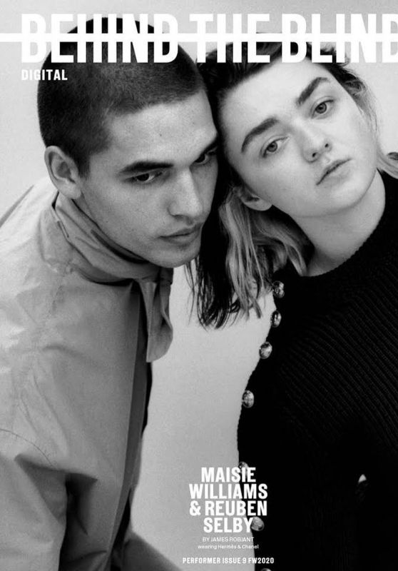 Maisie Williams – Behind The Blinds Issue #9 Fall/Winter 2020 (+1)