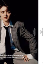 Maisie Williams – Behind The Blinds Issue #9 Fall/Winter 2020 (more photos)