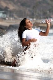 Maria Gomez - Photoshoot for 138 Water at a Beach in Malibu 10/07/2020