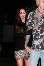 Megan Fox and Machine Gun Kelly - Out in Santa Monica 10/09/2020