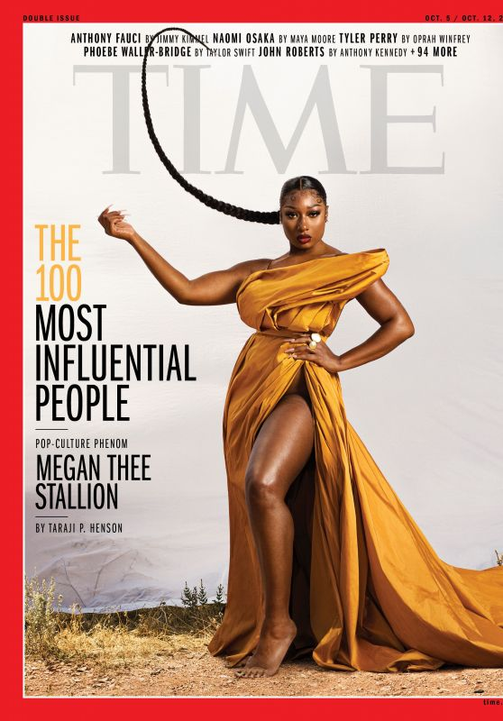 Megan Thee Stallion - TIME Magazine October 2020 Cover