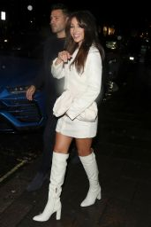 Michelle Keegan - Arriving at Corinthia Hotel in London 10/02/2020