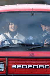 "Michelle Keegan - Filming TV Show ""Brassic"" in Lancashire 10/07/2020"