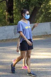 Mila Kunis - Out For a Walk in LA 10/07/2020