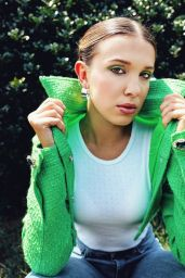 Millie Bobby Brown - Glamour UK August 2020 Photos