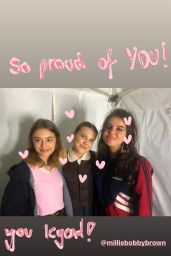 Millie Bobby Brown - Social Media Photos and Video 10/02/2020