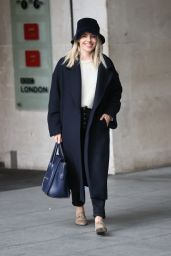 Mollie King Autumn Style - London 10/24/2020